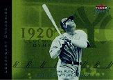 2002 Fleer Premium Legendary Dynasties #4 Babe Ruth
