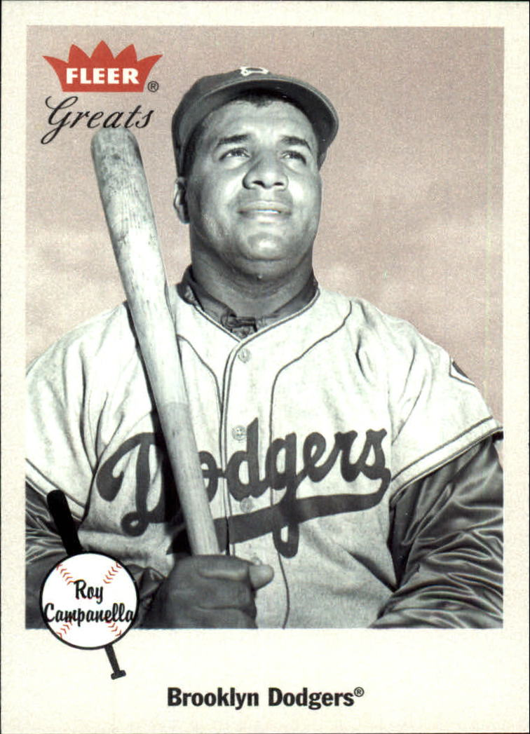 2002 Greats of the Game #14 Roy Campanella