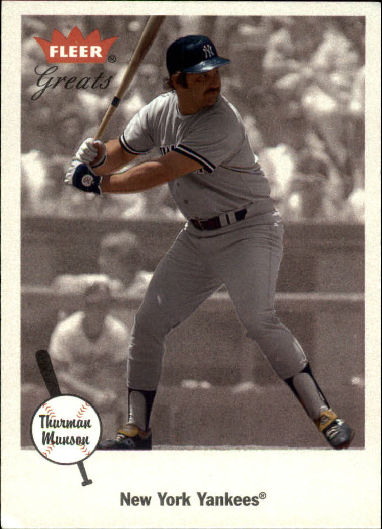 2002 Greats of the Game #32 Thurman Munson