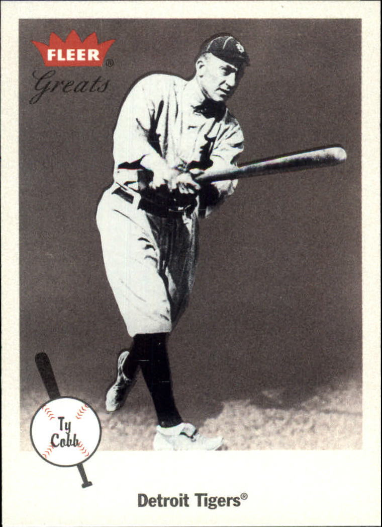 2002 Greats of the Game #33 Ty Cobb