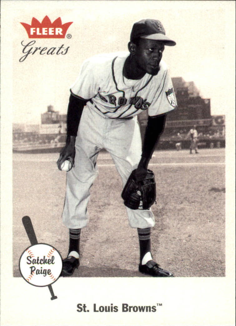 2002 Greats of the Game #35 Satchel Paige