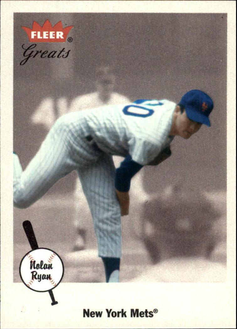 2002 Greats of the Game #61 Nolan Ryan