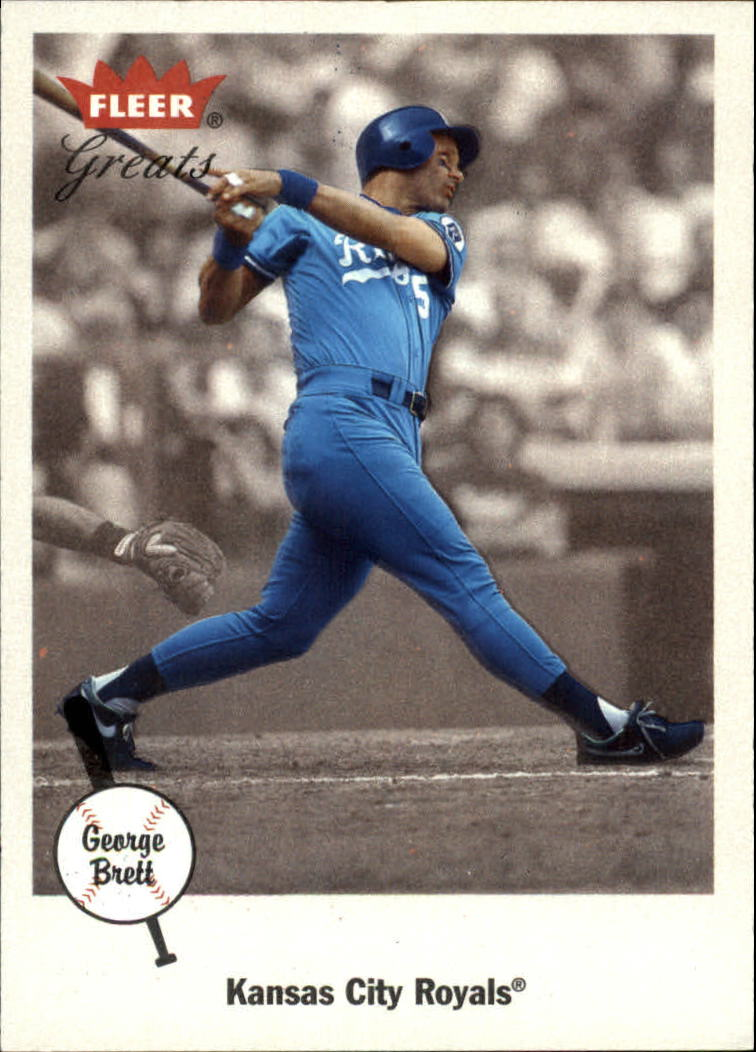 2002 Greats of the Game #70 George Brett