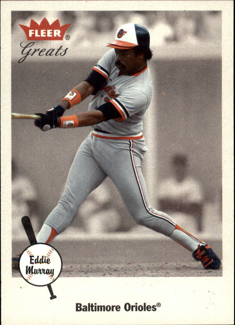 2002 Greats of the Game #76 Eddie Murray