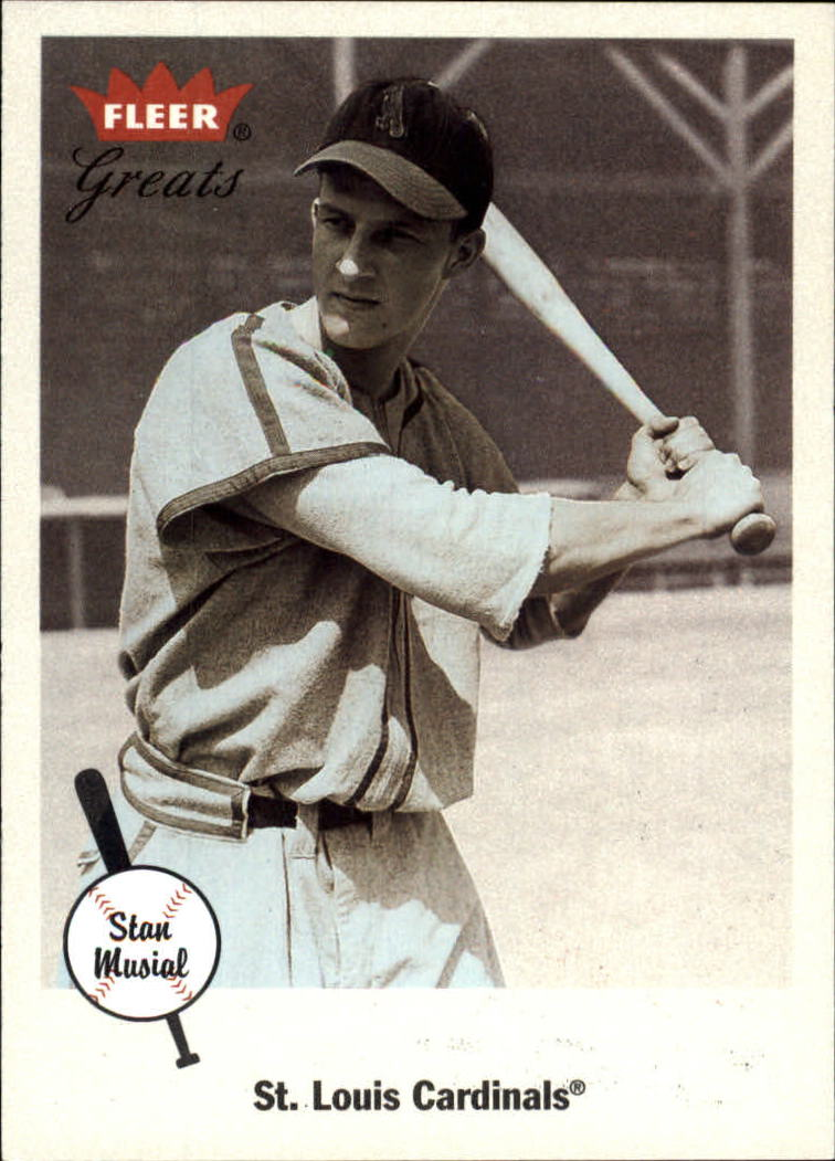 2002 Greats of the Game #88 Stan Musial