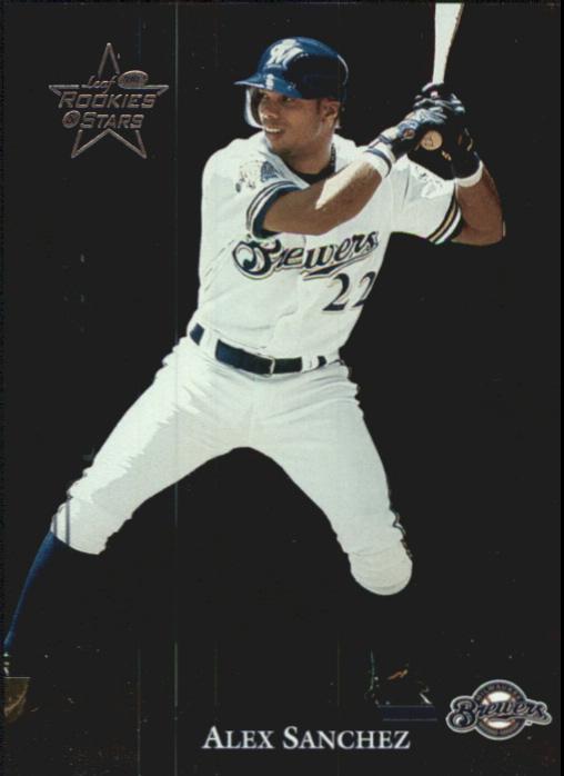 2002 Leaf Rookies and Stars Longevity #189 Alex Sanchez