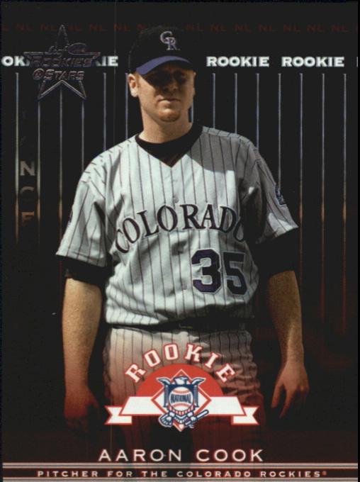 2002 Leaf Rookies and Stars Longevity #364 Aaron Cook RS