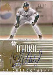 2002 SP Authentic Chirography Gold #IS Ichiro Suzuki/51