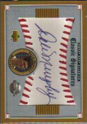 2002 Sweet Spot Classics Signatures #SDAM Dale Murphy