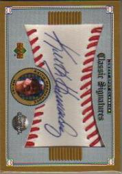 2002 Sweet Spot Classics Signatures #SKH Keith Hernandez