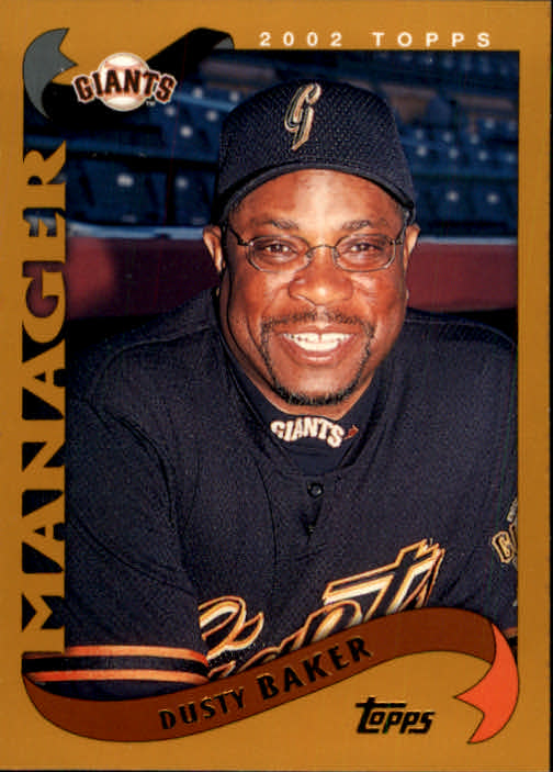 2002 Topps #290 Dusty Baker MG