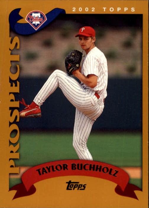 2002 Topps #675 Taylor Buchholz PROS RC