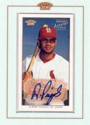 2002 Topps 206 Autographs #AP Albert Pujols A2