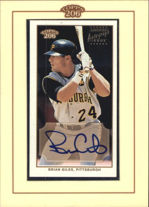 2002 Topps 206 Autographs #BG Brian Giles G1