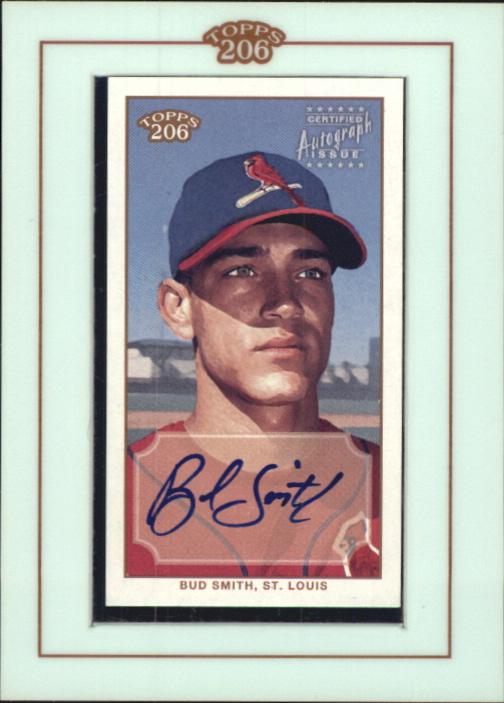 2002 Topps 206 Autographs #BSM Bud Smith B2