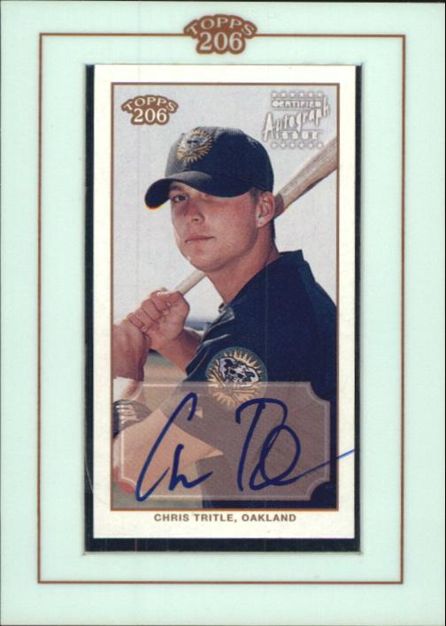 2002 Topps 206 Autographs #CT Chris Tritle G2