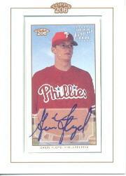 2002 Topps 206 Autographs #GF Gavin Floyd D2