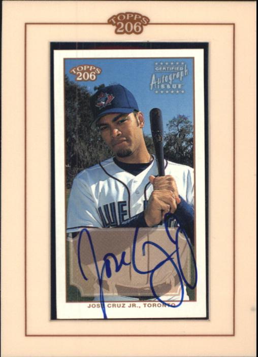 2002 Topps 206 Autographs #JC Jose Cruz Jr. A3