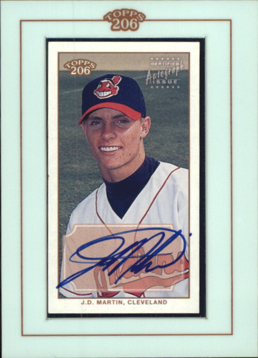 2002 Topps 206 Autographs #JDM J.D. Martin D2
