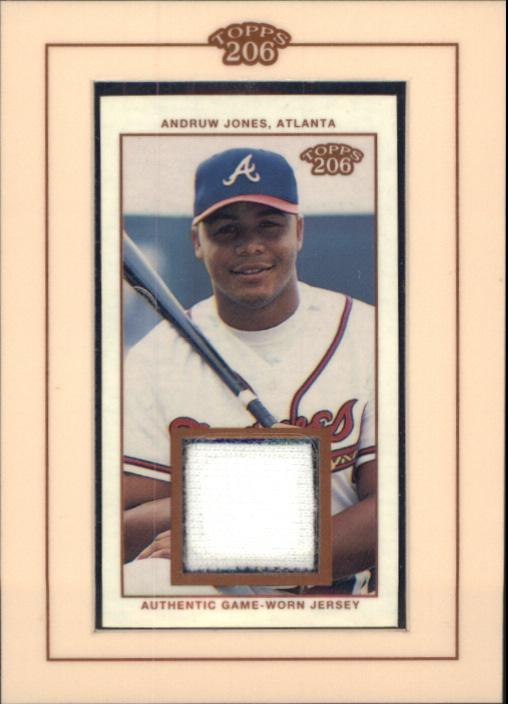 2002 Topps 206 Relics #AJ3 Andruw Jones Uni E3