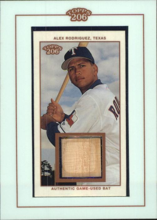 2002 Topps 206 Relics #AR2 Alex Rodriguez Bat D2