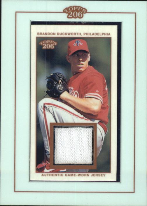 2002 Topps 206 Relics #BD Brandon Duckworth Jsy B2