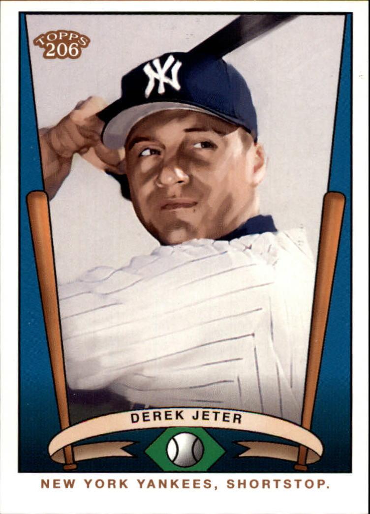 2002 Topps 206 Team 206 Series 1 #T2068 Derek Jeter