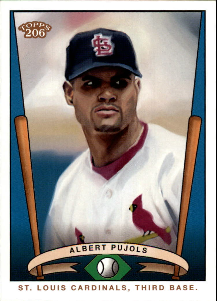2002 Topps 206 Team 206 Series 1 #T20613 Albert Pujols