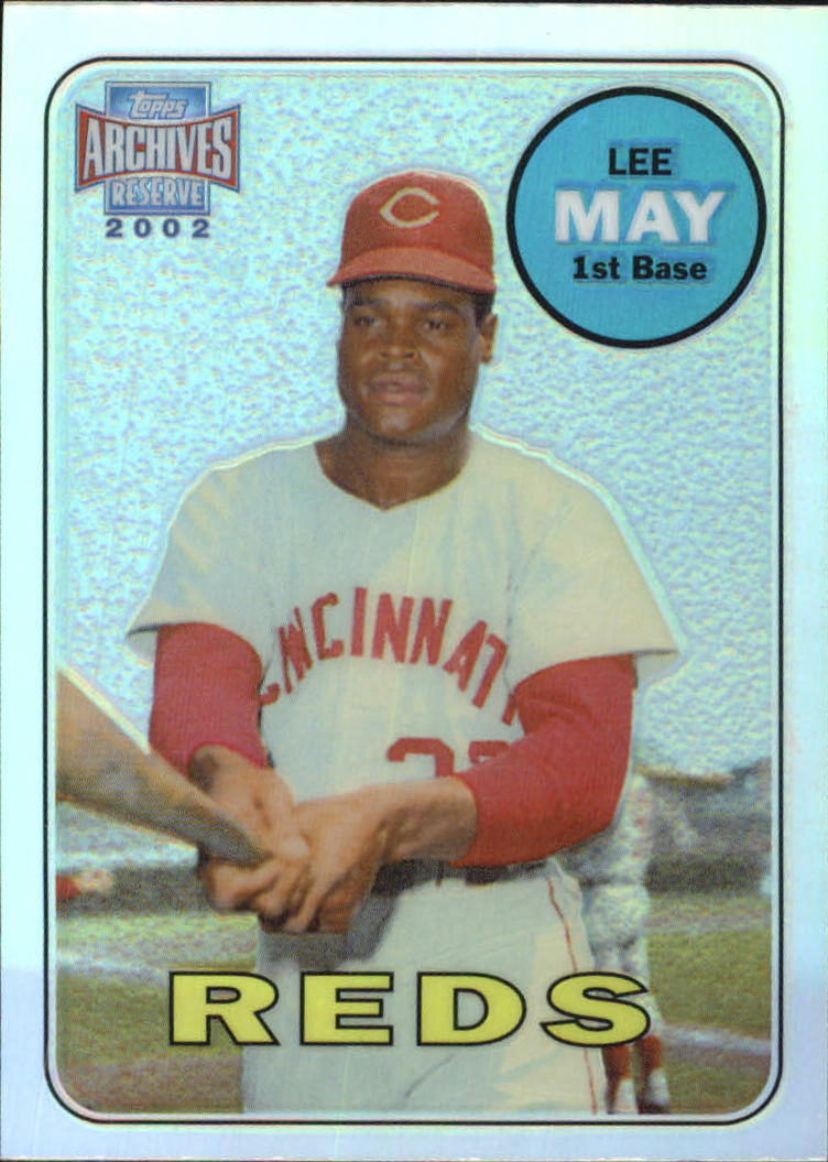 2002 Topps Archives Reserve #25 Lee May 69