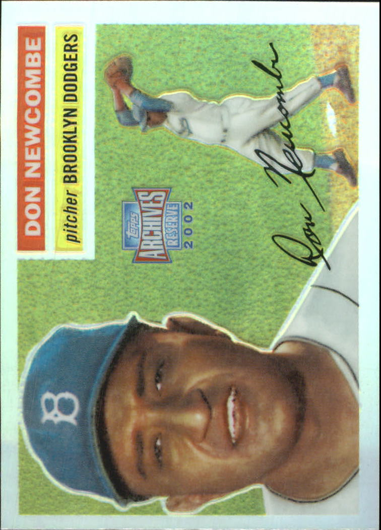 2002 Topps Archives Reserve #41 Don Newcombe 56