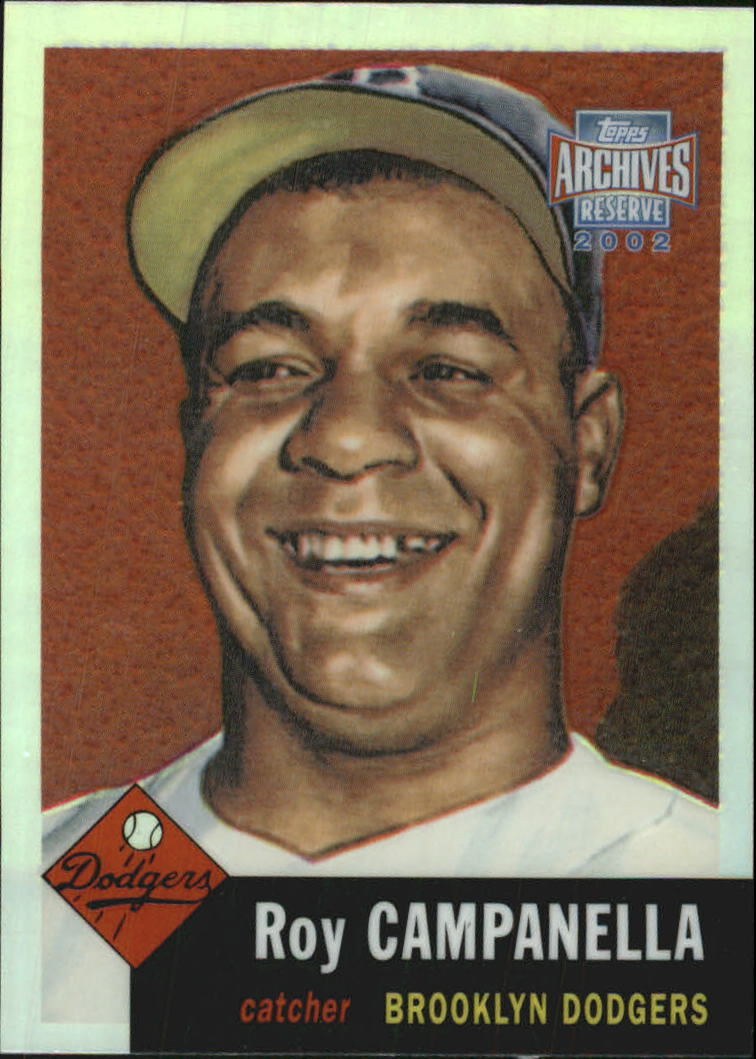 2002 Topps Archives Reserve #42 Roy Campanella 53