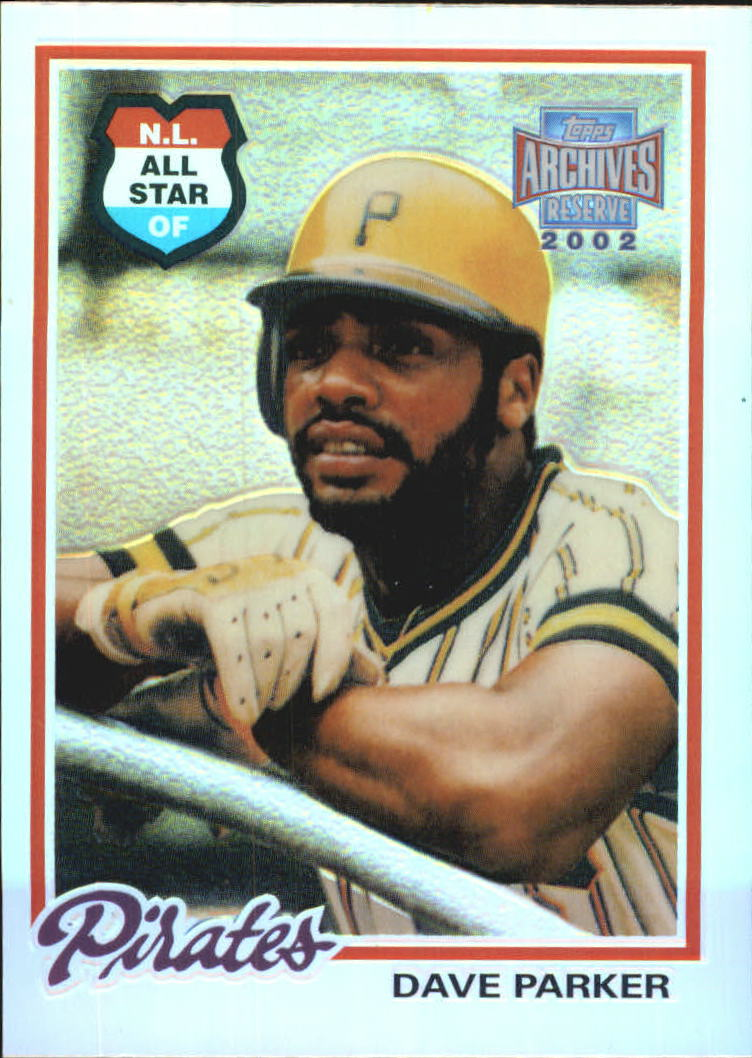 2002 Topps Archives Reserve #98 Dave Parker 78