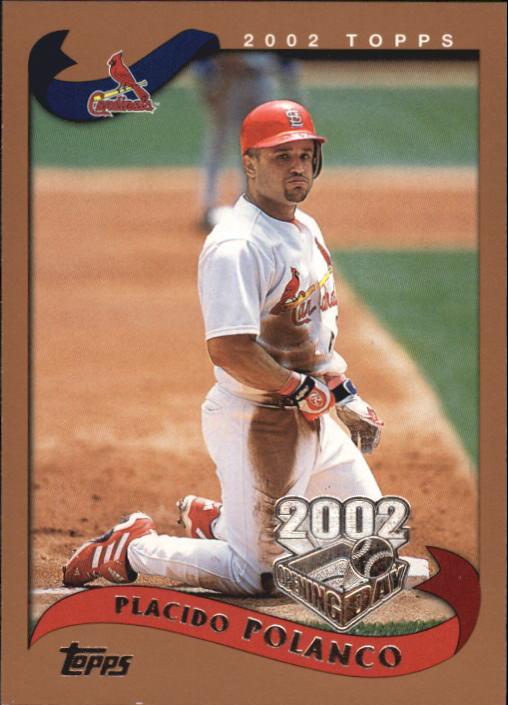 Philadelphia Phillies 2002 Topps #268 Placido Polanco Baseball Cards
