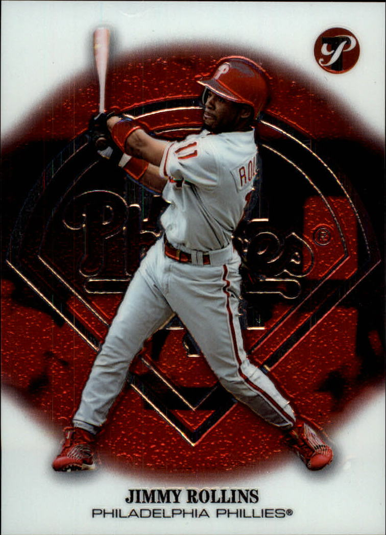 2002 Topps Pristine #3 Jimmy Rollins