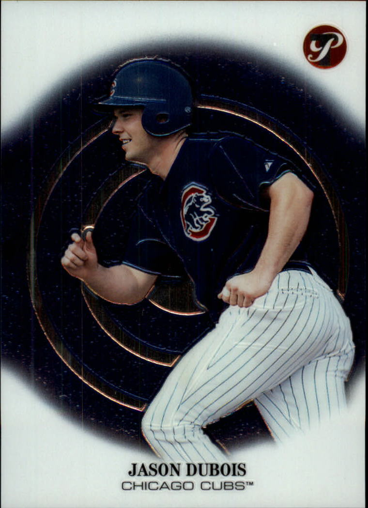 2002 Topps Pristine #187 Jason Dubois C RC