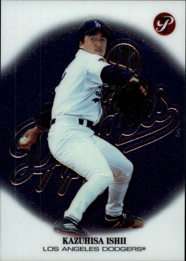 2002 Topps Pristine #202 Kazuhisa Ishii C RC