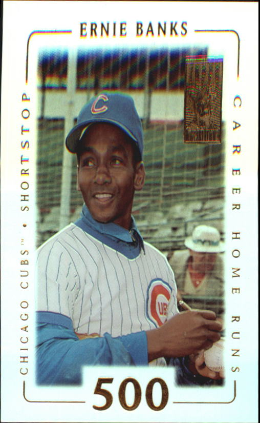 2002 Topps Tribute #65 Ernie Banks