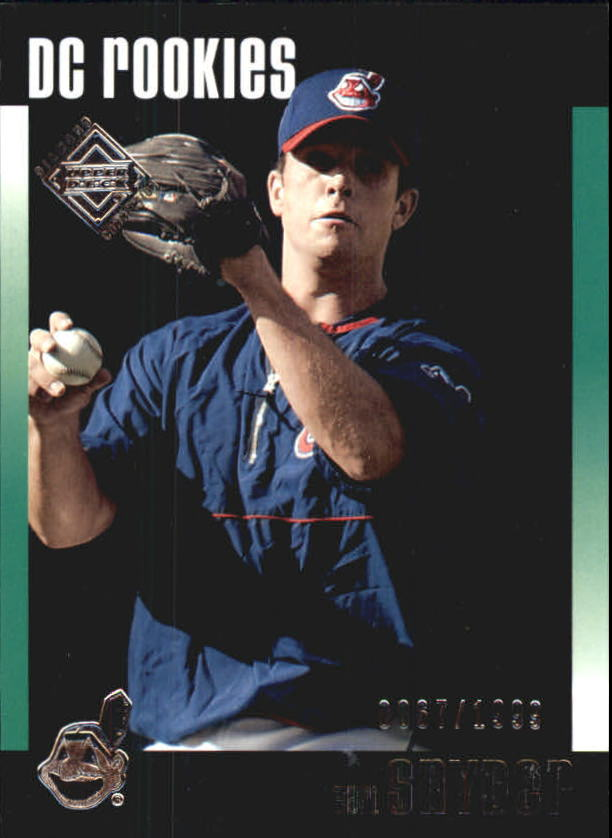 2002 Upper Deck Diamond Connection #619 Earl Snyder DC RC