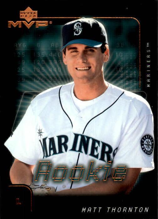 2002 Upper Deck MVP #57 Matt Thornton RC