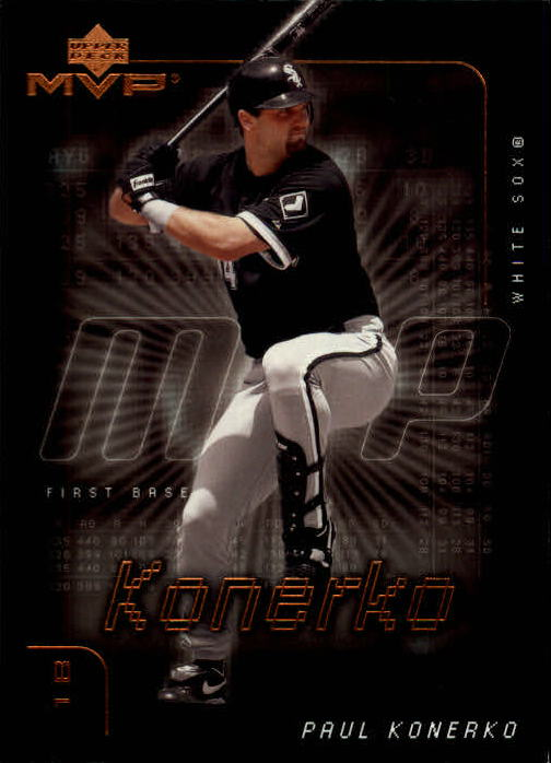2002 Upper Deck MVP #121 Paul Konerko