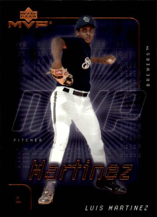 2002 Upper Deck MVP #165 Luis Martinez RC