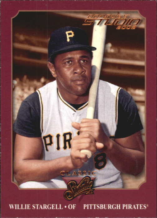 2002 Studio Classic #19 Willie Stargell