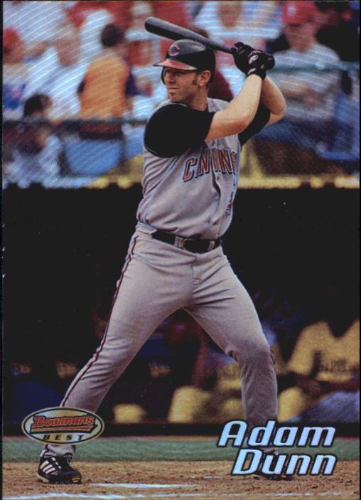 2002 Bowman's Best #44 Adam Dunn