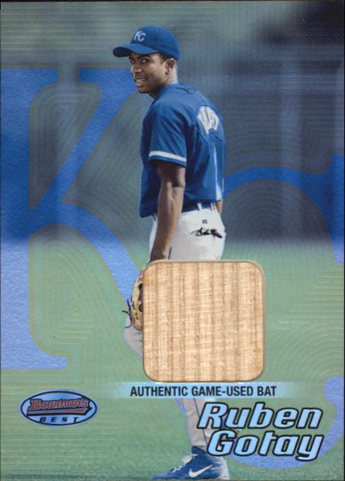 2002 Bowman's Best #144 Ruben Gotay Bat RC