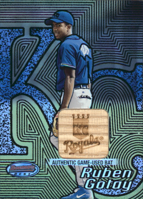 2002 Bowman's Best Blue #144 Ruben Gotay Bat