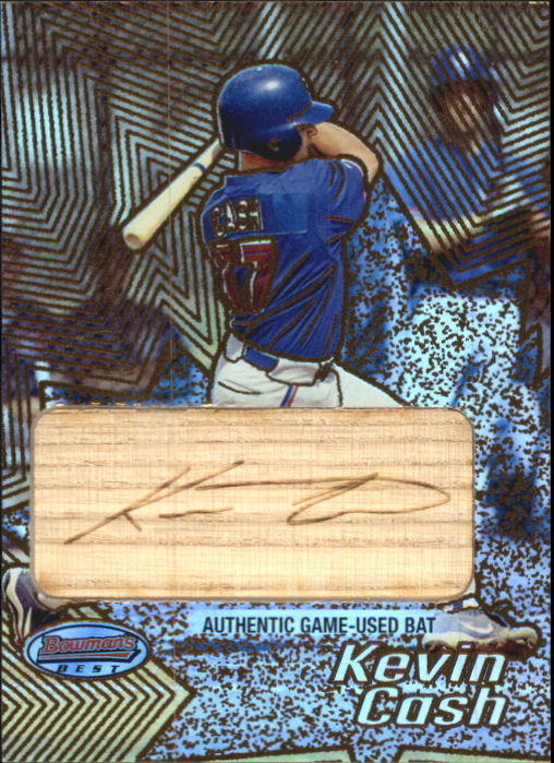 2002 Bowman's Best Gold #135 Kevin Cash Bat