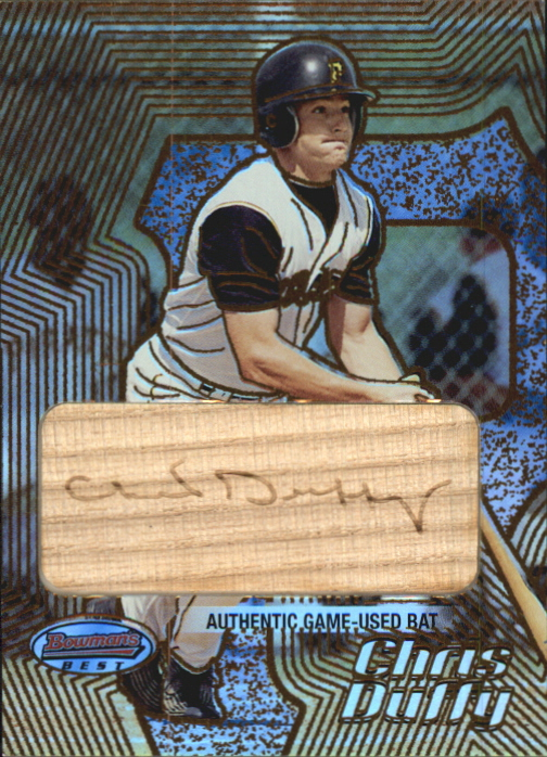 2002 Bowman's Best Gold #180 Chris Duffy Bat