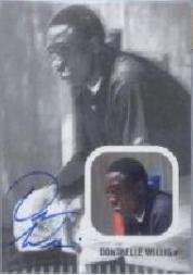 2002-03 Just Rookies Autographs #39 Dontrelle Willis/100