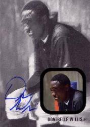 2002-03 Just Rookies Autographs Black #39 Dontrelle Willis