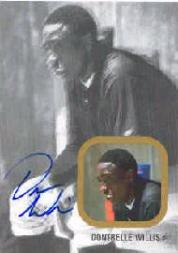 2002-03 Just Rookies Autographs Gold #39 Dontrelle Willis